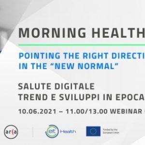Locandina evento Salute Digitale: Trend e Sviluppi in Epoca Covid